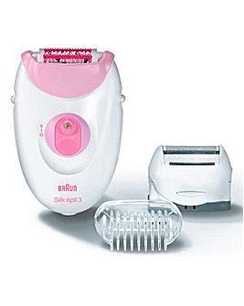Braun Silk-Epil 3 Legs & Body Epilator