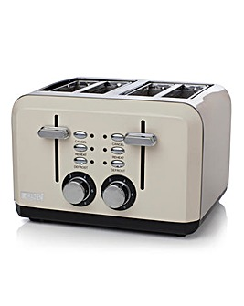 Haden Perth Sleek 4 Slice Cream Toaster