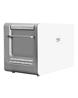 Beko Sense White 2 Slice Toaster