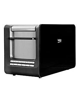 Beko Sense Black 2 Slice Toaster