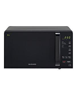 Daewoo 20Litre Digital Black Microwave