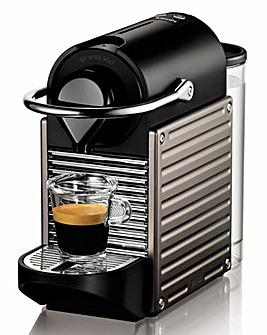 Nespresso Pixie Titanium Coffee Machine