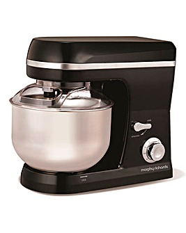 Morphy Richards Accents Blk Stand Mixer