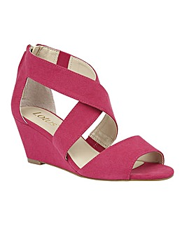 LOTUS CHEENEY WEDGE SHOES
