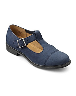 Hotter Wiltshire Buckle Fastening Shoe