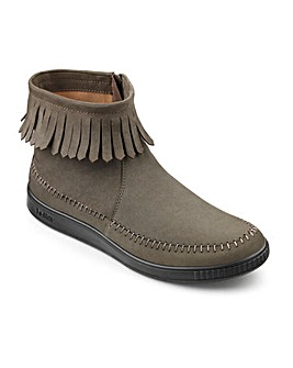 Hotter Sienna Fringed Ankle Boot