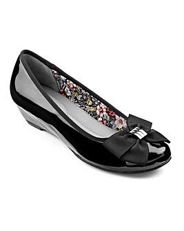 Hotter Pansy Wedge Heel Shoe