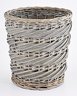 Split Willow Waste Paper Bin