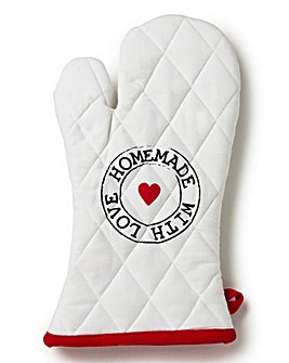 Homemade with Love Oven Mitt