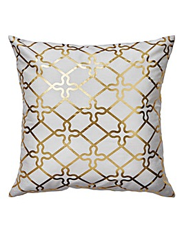 Isla Gold Foil Cushion