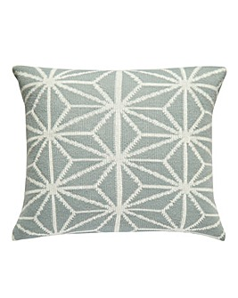 Glace Geo Knitted Cushion