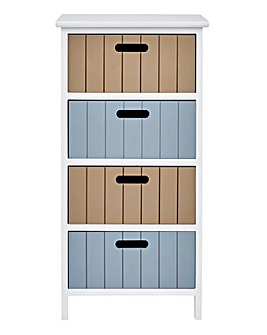 Harbour 4 Drawer Unit