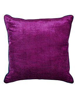 Velluto Cushion with Contrast Trim