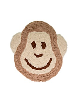 Monkey Desitgn Kids Rug