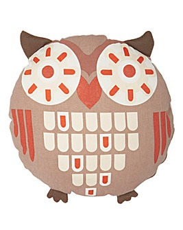 Owl Shaped Cushion