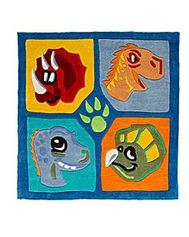 Dino Design Kids Rug