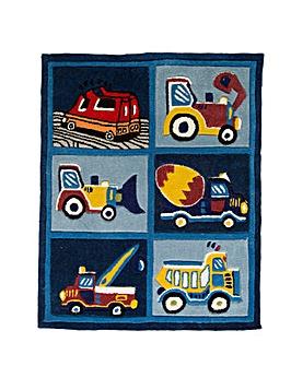 Truck Design Kids Rug