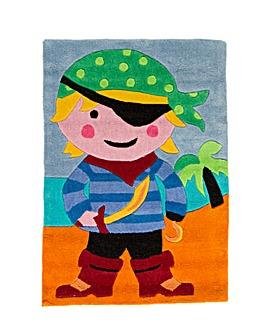Pirate Design Kids Rug