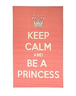 Be A Princess Kids Rug