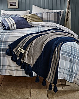 Lorraine Kelly Cardonald Stripe Throw