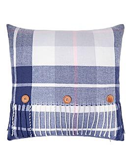 Lorraine Kelly Loch Lomond Check Cushion