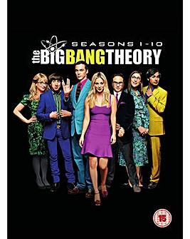 Big Bang Theory Season 1 to 10 DVD