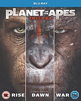 Planet Of The Apes Trilogy Boxset Bluray