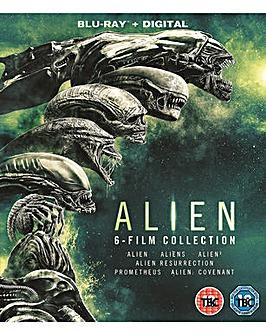 Alien 1 to 6 Boxset Bluray