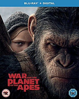 War For The Planet Of The Apes Bluray