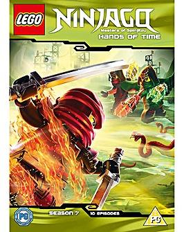 Lego Ninjago Hands Of Time DVD
