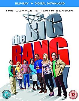 Big Bang Theory Season 10 Bluray