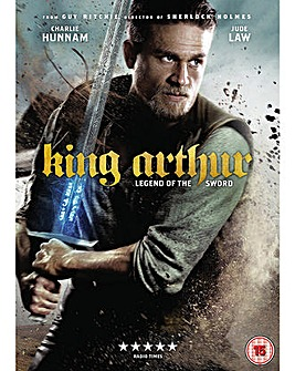 King Arthur Legend Of The Sword DVD