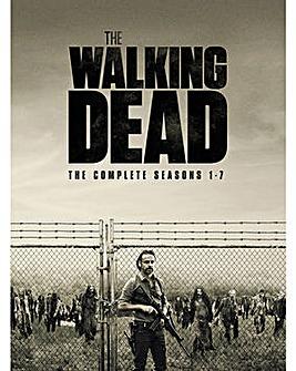 Walking Dead Season 1 to 7 DVD