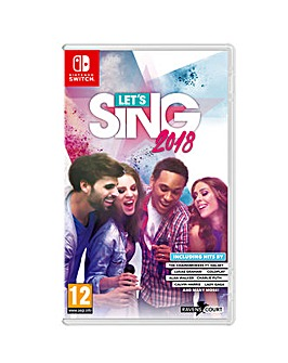 Lets Sing 1 Mic Pack Nintendo Switch