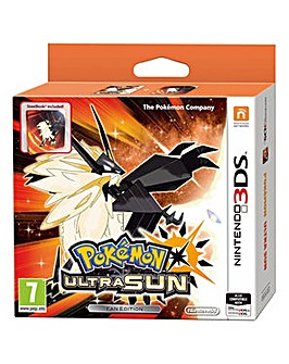 Pokemon Ultra Sun Steelbook Fan Edition