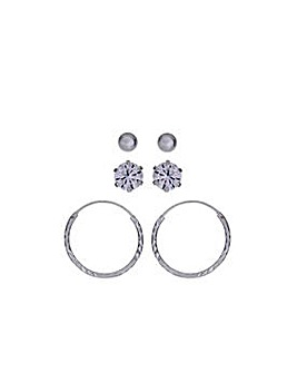 Stud & Hoop Earrings
