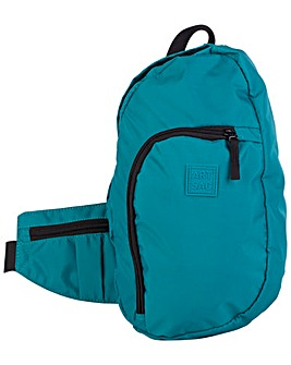 Artsac Nylon Back Pack /  Shoulder Bag