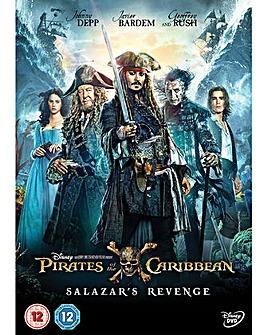 Pirates of Caribbean Salazar RevengeDVD