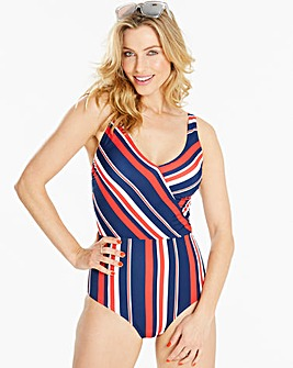 Lovedrobe Cross Front Swimsuit