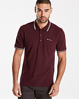 Ben Sherman Tipped Polo Long