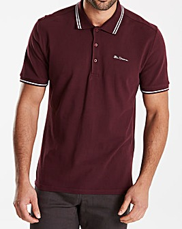 Ben Sherman Tipped Polo Reg