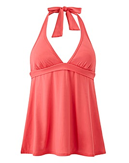 Sunseeker Halter Tankini Top