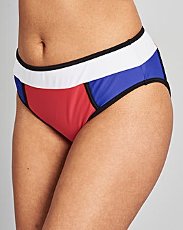 Simply Yours Colour Block Bikini Brief