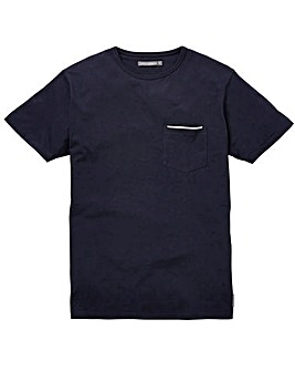 French Connection Tipped Pocket T-Shirt