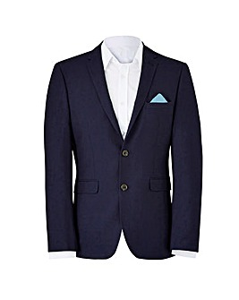 Burton London French Navy Suit Jacket