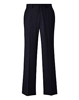 Burton London Navy Twill Trousers 32In