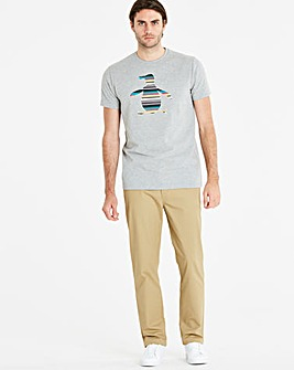 Original Penguin Stripe Pete Tee Long