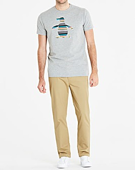 Original Penguin Stripe Pete Tee Reg