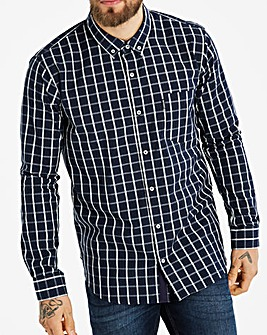 Lambretta Box Windowpane Check Shirt L