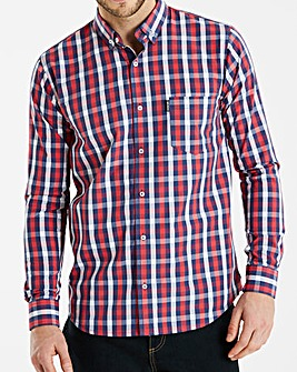 Lambretta Sero Multi Check Shirt L
